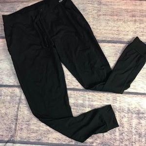 Victoria's Secret Joggers Sweatpants Women S Black